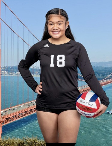 SF Elite Volleyball Club 2021:  KORINA-NIA PUA (NIA)